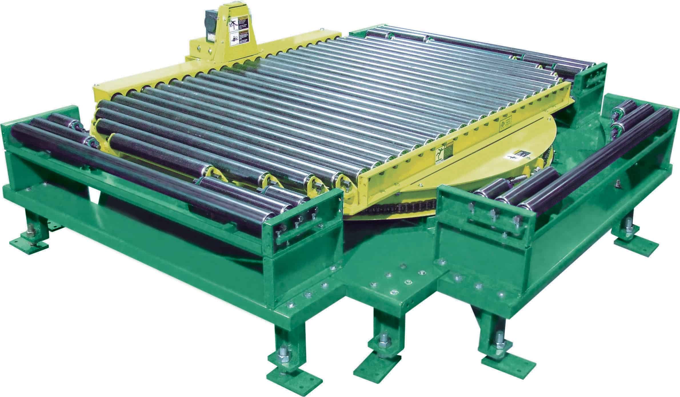 Model 251crr Powered Turntable Automated Conveyor