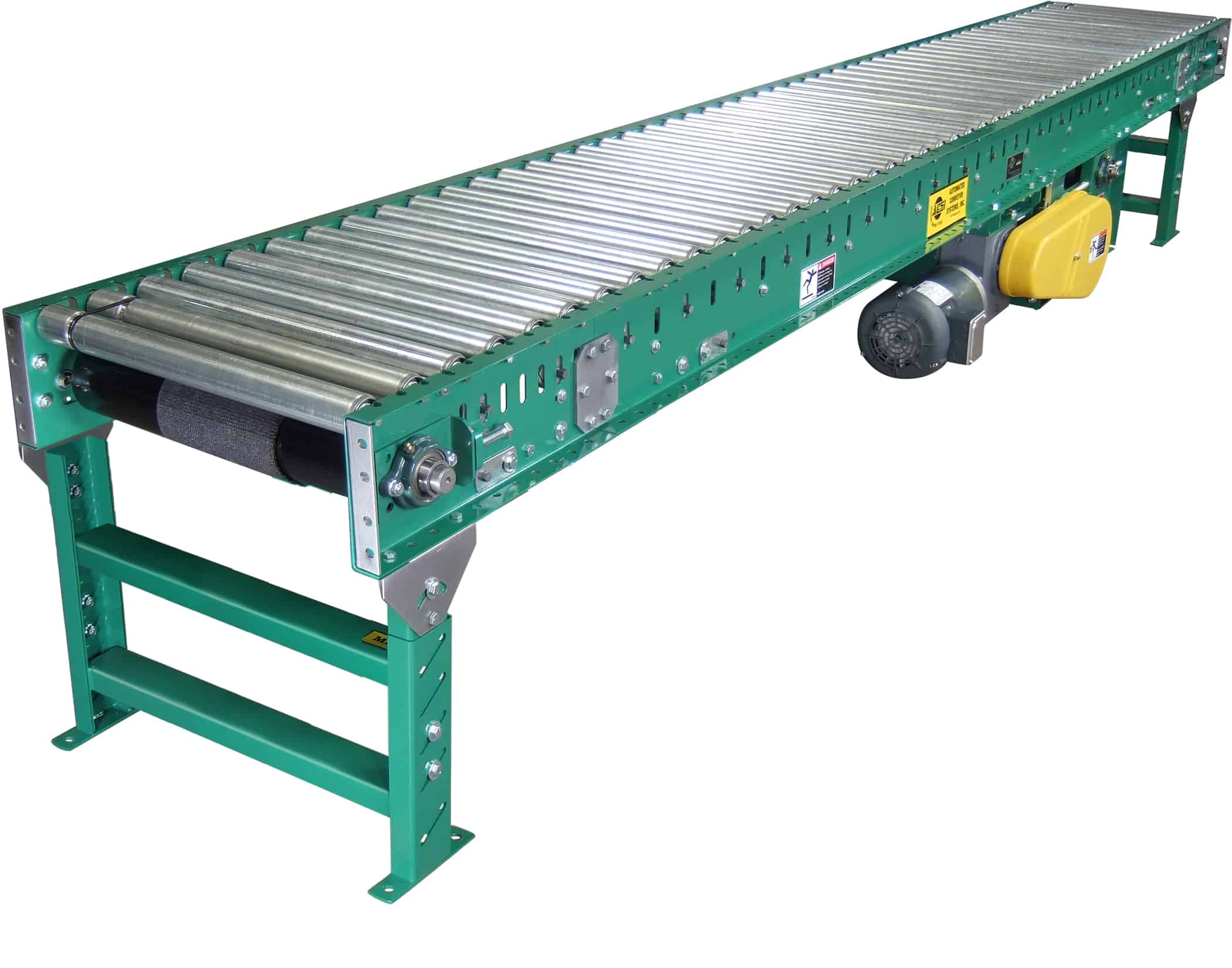 Automated conveyor systems inc product catalog model Motorized conveyor belt